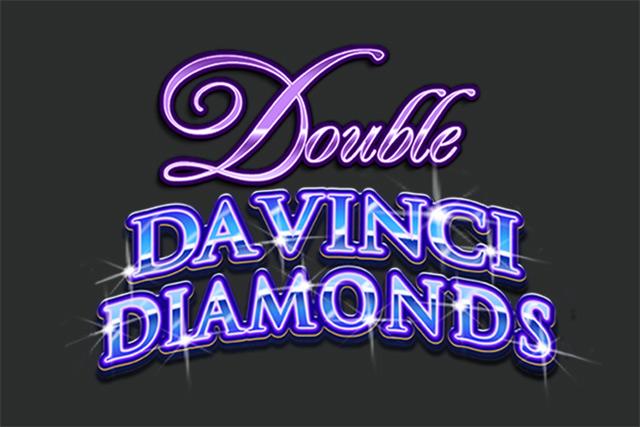 Double Da Vinci Diamonds logo slot