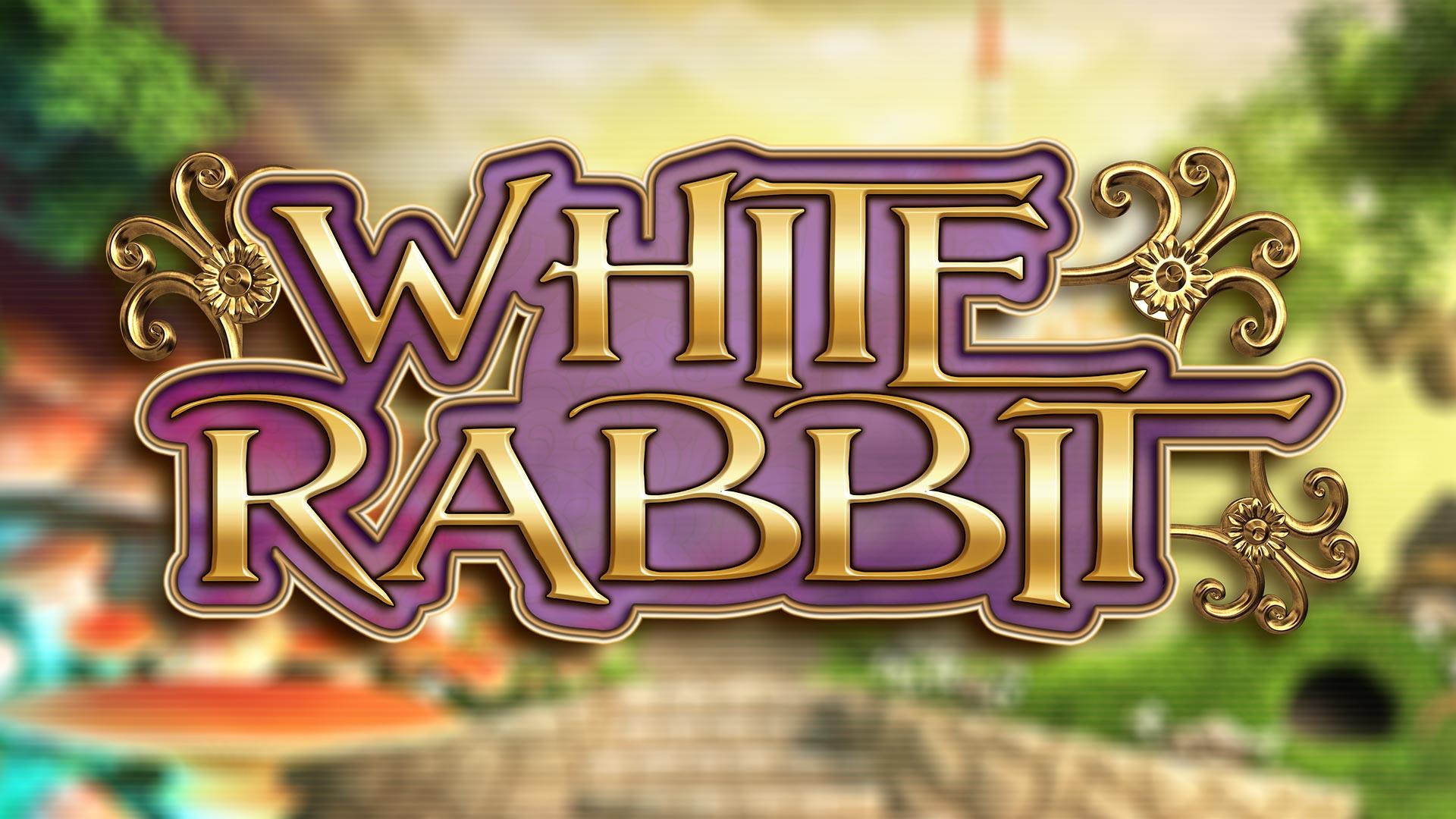 White Rabbit Slot Logo Slots Racer
